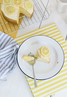 Three Step Lemon Cake (What Olivia Did. Personal Recipe, London Food, Let Them Eat Cake, Food For Thought, Food Inspiration, Baking Recipes, Sweet Recipes, Sweet Treats, Lemon