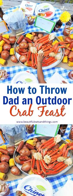 New seafood broil party ideas meals Ideas, – Sea Food Speciel Crab Boil Party, Seafood Party, Seafood Appetizers, Seafood Dinner, Appetizers For Party, Seafood Buffet, Seafood Platter, Fathers Day Dinner Ideas, Seafood Broil