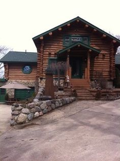 Spring Lake cabin rental - Entrance