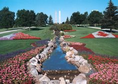 International Peace Garden, North Dakota & Canada Border.  great place to spend a day.