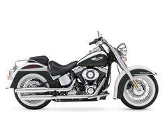 2012 Harley-Davidson FLSTN Softail® Deluxe    A bit too much black, but still cute! ~mgw