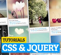 This is a huge list of CSS and jQuery tutorials. In this compilation, I just gathered most wanted CSS Tutorials and jQuery Tutorials to enrich your knowledge as Web Design, Graphic Design, Webpage Layout, Html Css, Computer Programming, Site Web, Design Tutorials, Web Development, Photo Editing