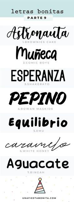 Descargar tipos de letras - Una Fiesta Bonita Arabic Calligraphy, Math, Paper, Party Kit, Day Planners, Invitations, Fonts, Math Resources, Arabic Calligraphy Art