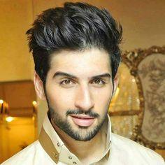Fahdi Khan 0 hair, eyebrows and beard.