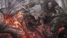 The Witcher 3 fan art