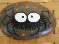 Reserved for Connie...Halloween Painted Rocks by PlaceForYou
