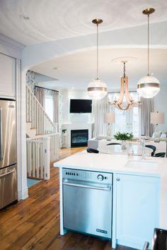 Hardwood floors + fresh white walls: http://www.stylemepretty.com/living/2016/06/29/tour-a-home-that-balances-modern-classic-design-like-a-boss/ | Photography:Heidi Lau
