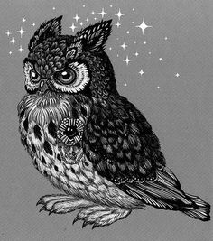 Owl by Esquirol on DeviantArt