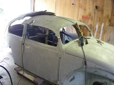 Volksrod Chopping the top