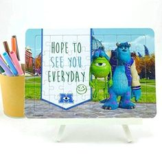 DIY Gift Card Monster University Blank Jigsaw Puzzle 40 Piece Muc401 -- Read more reviews of the product by visiting the link on the image.Note:It is affiliate link to Amazon.