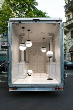 New Lee Broom's Lamps Collection Presented in a Delivery Van – Fubiz Media
