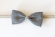 Bow Ties – Black and white Papillon – a unique product by UrbanOlive on DaWanda
