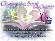 Closing the Book on Cancer 2014 Relay Event in Central FL is using this theme. You Make A Difference, Relay For Life, Fundraising Events, Fb Page, Reveal Parties, Breast Cancer Awareness, Gender Reveal, Helping Others, Good Books
