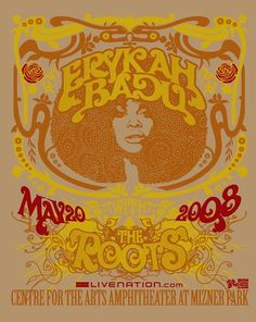 GigPosters.com - Erykah Badu - Roots, The