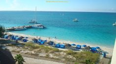 Look at that gorgeous blue water! - Beaches Turks & Caicos