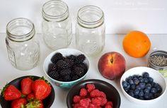 Rezept: Wasser mit Fruchtgeschmack