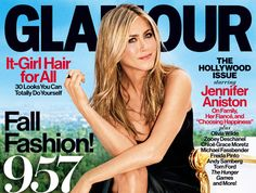 Jennifer Aniston, portada de Glamour ~ ActorsZone