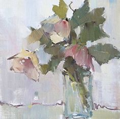 Favorite Song by Nancy Franke Oil ~ 12 x 12