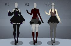 (OPEN) Set Price - Flat Outfit Batch 1 by CherrysDesigns