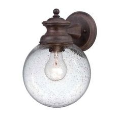 Home Decorators Collection Sutton Collection Wall-Mount Outdoor Mediterranean Patina Lantern-HB7056A-163 at The Home Depot