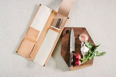 Leather Knife Case // 4 knife kit by fullgive in natural Knife Storage, Case Knives, Leather Roll, Pen Case, Kit, Purses, Wallet, Natural, Black Friday
