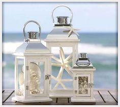 Decorations, Beach Wedding Centerpieces Lantern: Best Beach Wedding Centerpieces Ideas
