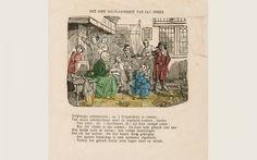 Prenten-magazijn voor de jeugd. Levensbeschrijving Jan Sten. ca. 1850-1880