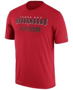 Nike Men's Tampa Bay Buccaneers All FootbALL Legend T-Shirt - Red M