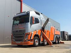 Volvo FH 16 with FAW 25.000 Abschleppdienst RHC *FALKOM BV* Tow Truck, Big Trucks, Towing And Recovery, Volvo Trucks, Motorhome, Tractors, Top, Wheelbarrow, Rc Trucks