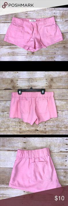 Kiss & Cry Pink Drawstring Shorts Kiss & Cry Pink Drawstring Shorts.  55% Linen 45% Cotton Kiss & Cry Shorts