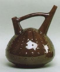 Sea urchin vessel with bridge spout, Christopher Dresser, 1879-1882