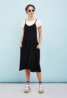 The Whitepepper Crisscross Cami Dress   Forever 21 - 2000131056