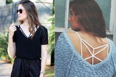 sutiã de tiras / strappy bra