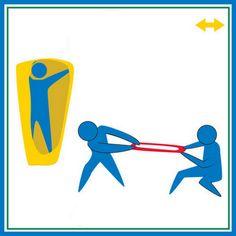 Puxar e esticar são atividades de organização de comportamento.