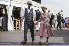 Revival Chic: Friday's fashionistas in the frame (gallery) | Goodwood Road & Racing