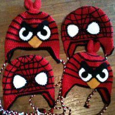 Angry Birds & Spiderman! Cute idea