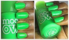 Models Own Ice Neon nail polish in Toxic Apple