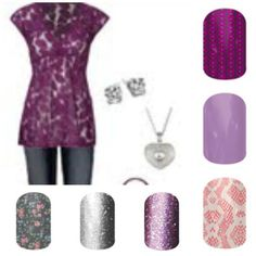 There is a Jamberry Wrap for every outfit. Whether dressed up or dressed down!