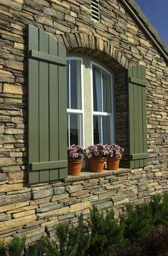 Image result for dry stack stone facade