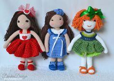 Crochet Dolls, Christmas Ornaments, Holiday Decor, Home Decor, Xmas Ornaments, Homemade Home Decor, Christmas Jewelry, Christmas Ornament, Interior Design
