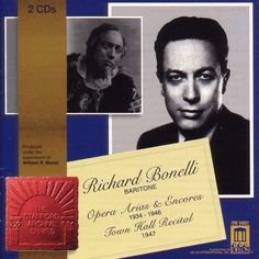 R Bonelli/Stanford A - Opera Arias and Songs/2cd Set