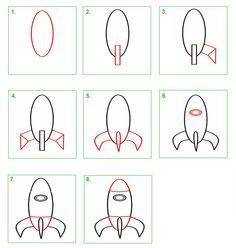 Schoolwiz - Hoe teken je een raket