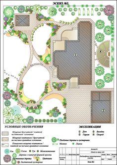 Ideas landscape layout plan projects plants for 2019 Landscape Art Quilts, Landscape Design Plans, Landscape Edging, Green Landscape, Landscape Architecture, Beautiful Landscape Paintings, Japanese Garden Design, Yard Design, Garden Planning
