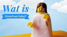 Hemelvaartsdag uitgelegd met LEGO