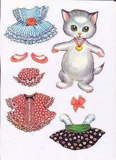 Бумажные куклы (животные)
