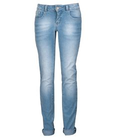 Adorei essa calça. simples, e bonita. Ta R$69.90 na C (: Calça|Jeans|Azul Claro