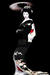 Aiko-san, Japanese Geisha