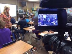 Austin Moore in Elk City shooting an Ag in the Classroom class.