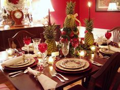 pictures of christmas tablescapes - Yahoo Search Results