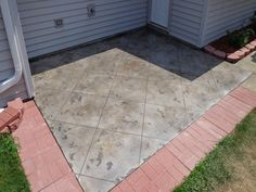 Outdoor Tuscan Slate looks and performs excellently, even under harsh conditions in Denver, Colorado.